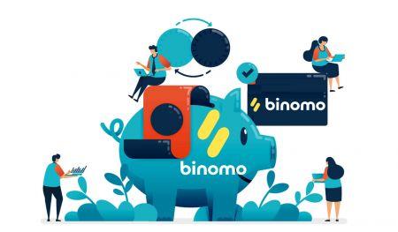 كيفية إيداع الأموال في Binomo
