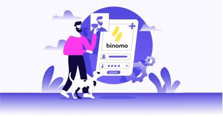 كيفية فتح حساب تداول في Binomo