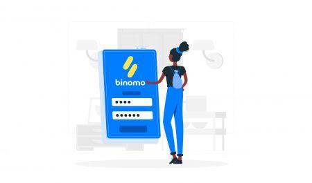 كيفية تسجيل الدخول إلى Binomo