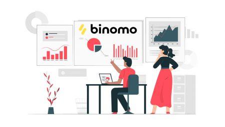 كيفية التسجيل وبدء التداول باستخدام حساب تجريبي في Binomo