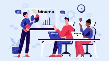 كيفية تسجيل الدخول وبدء التداول في Binomo