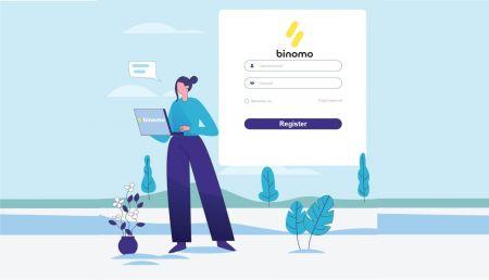 كيفية تسجيل الدخول والتحقق من الحساب في Binomo
