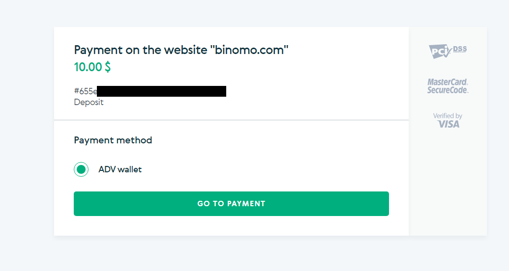 كيفية تسجيل الدخول وإيداع الأموال في Binomo